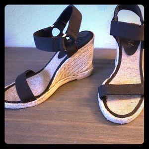 Ralph Lauren strappy wedge sandals